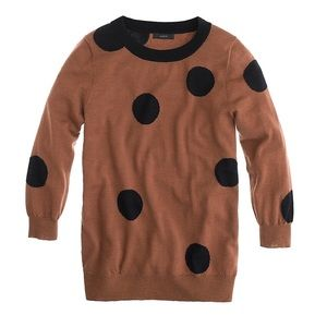 Jcrew Tippi Polka Dot Sweater Size Extra Small